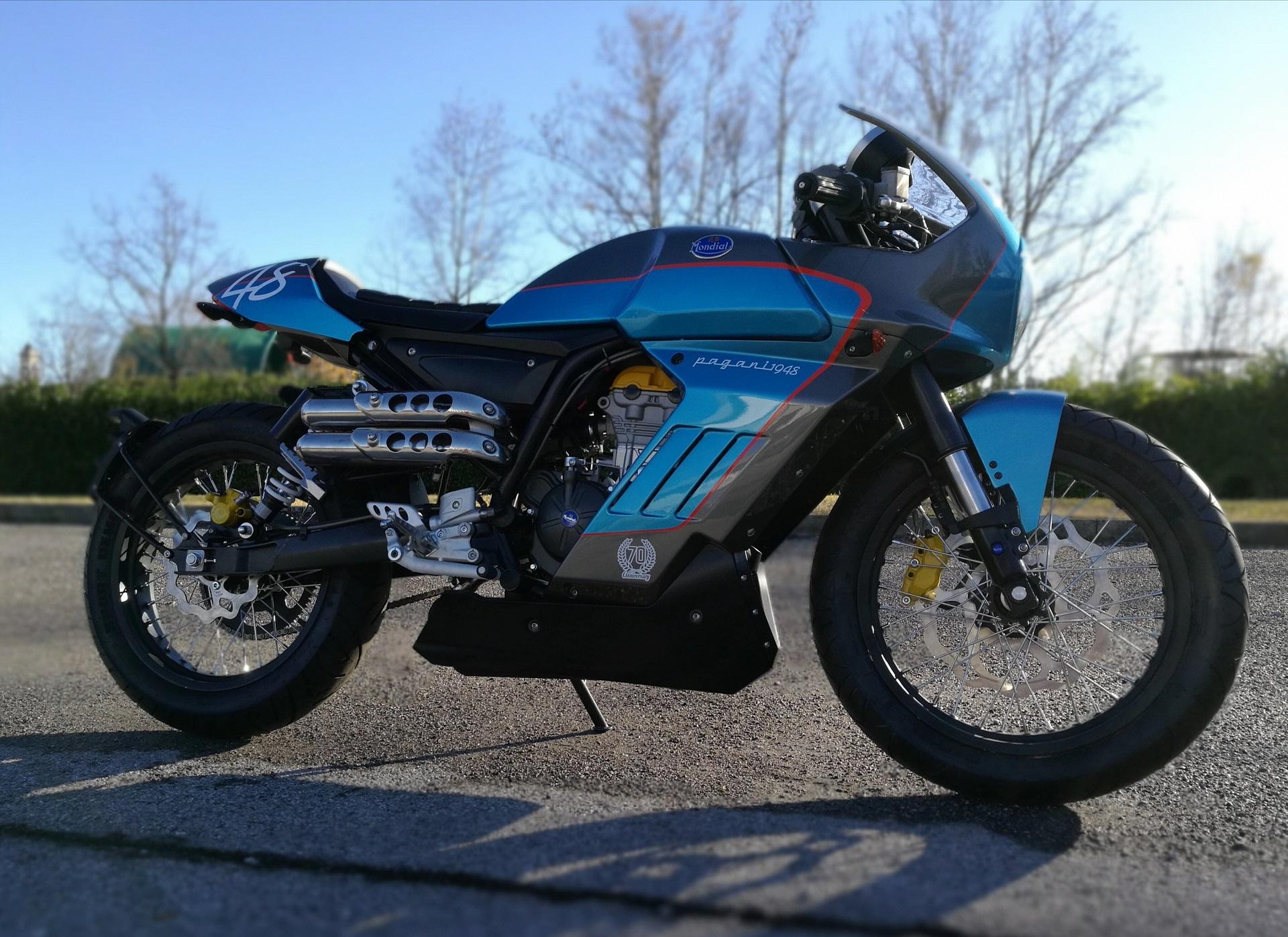 FBMONDIAL MOTORCYCLE PAGANI 1948