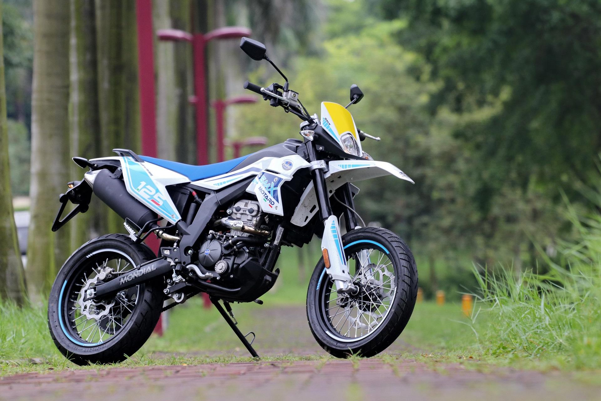 FBMONDIAL MOTARD MOTORCYCLE 125